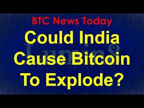 BTC News Today 2020: Could India Cause Bitcoin To Explode?